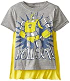 Transformers Boys Bumblebee Roll Out T-Shirt with Cape