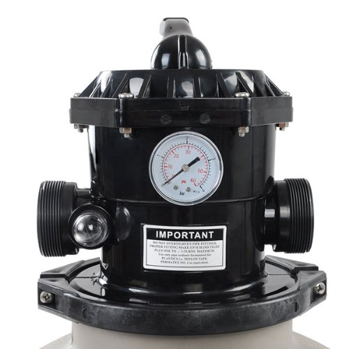 16 In Above Ground Swimming Pool Sand Filter w// Valve