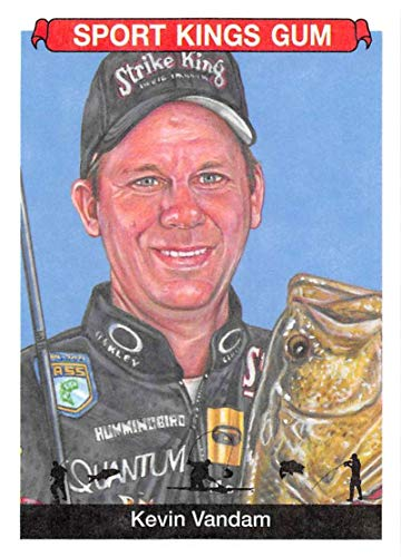 (2018 Sportkings Volume One Retail Multi Sport #4 Kevin Vandam Fishing Collectible Retro Themed Trading Card Set From Sage)
