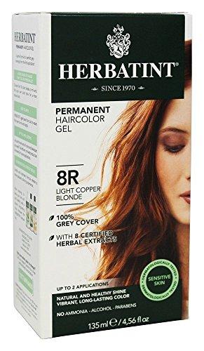 (Herbatint Hair Color, 8R Light Copper Blonde, 4.56 fl oz)