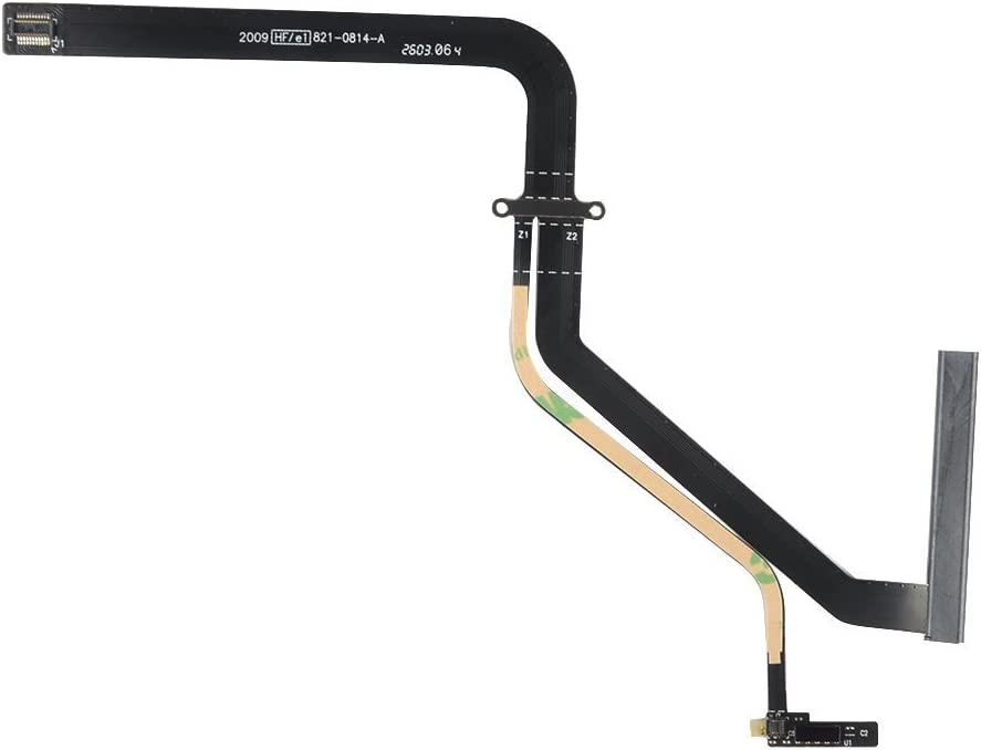 "Willhom Replacement for MacBook Pro 13"" A1278 821-0814-A Hard Drive Cable Without Bracket (Mid 2009, Mid 2010) 922-9062"
