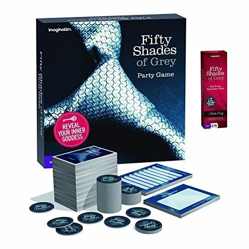 Fifty Shades of Grey Party Board Game Complete Set with Red Room Expansion Pack by Imagination (Red Room Of 50 Shades Grey)