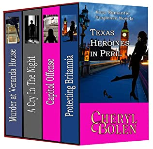 book cover of Texas Heroines in Peril