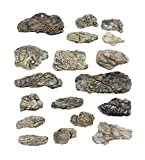 Woodland Scenics Ready Rocks-Surface 1, Transparent