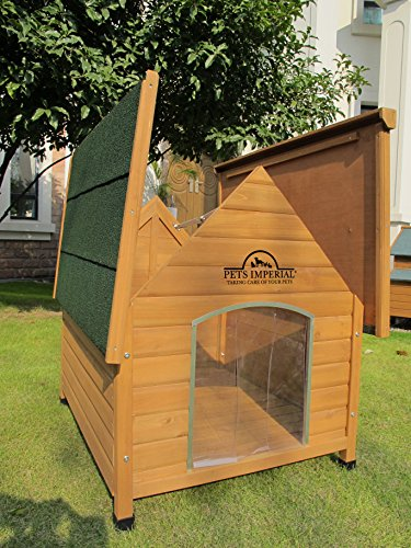 Pets Imperial Extra Large Wooden Sussex Dog Kennel