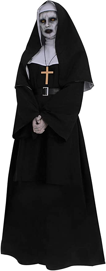 #Nun Outfit Fancy Dress Costume XL 18-22 New
