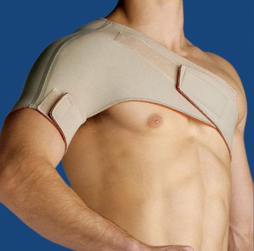 Thermoskin Sports Shoulder Univ Fit-Beige Medium by Marble Medical