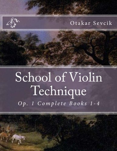 School of Violin Technique: Op. 1 Complete Books 1-4