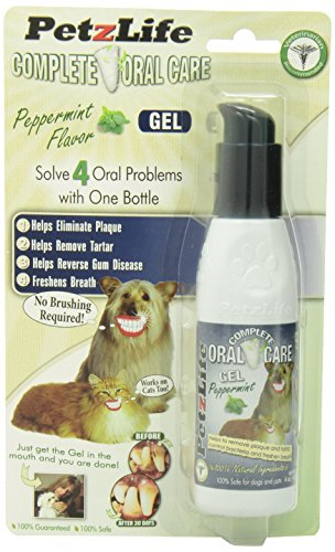 Petzlife 891012 Complete Oral Care Gel Peppermint Blister...
