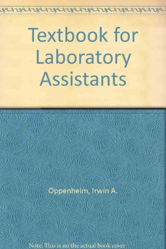 Textbook for Laboratory Assistants