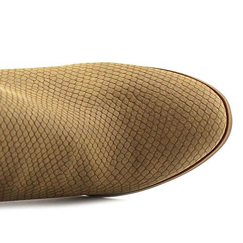 Style & Co Jamila Rund Faux Wildleder Mode-Stiefeletten Saddle