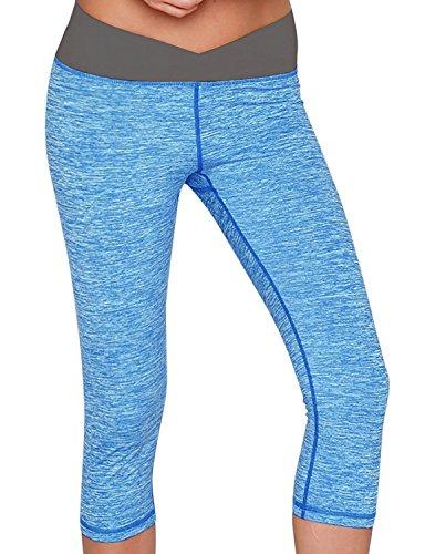 Capris Active Running Workout Leggings
