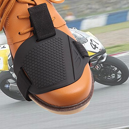Mingruie Car Motorcycle Shift Gearshift Shoe Boot Guard Protector Cover Protective Pad Gear