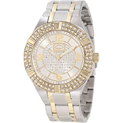 Rhino by Marc Ecko Men's E8M090MV Rock Steady Round Solid Stone Dress Bracelet Watch