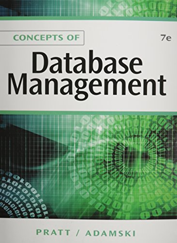 Bundle: Concepts of Database Management, 7th + A Guide to MySQL