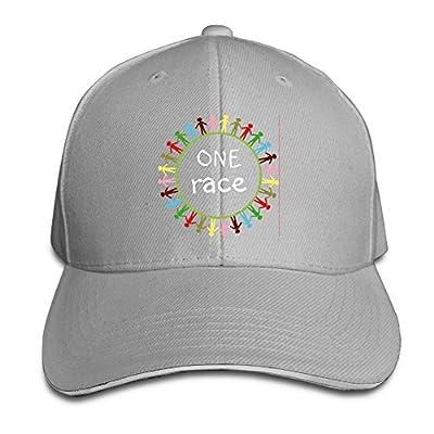 Ws WellShopping One Race Custom Sandwich Peaked Cap Unisex Baseball Hat