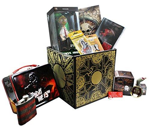 toynk Horror Gift Box Bundle w/ Hellraiser, Friday The 13th, Walking Dead, Saw, +