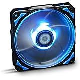 NOX - Ventilador  HFAN 12cm Led Azul [España]