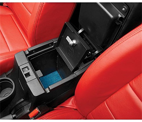Bestop 42643-01 Center Console Lock Box for 2011-2018 Wrangler JK 2-Door & Unlimited