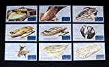 1998 Skybox Star Trek Insurrection Schematic Set (S1-S9) Nm/Mt