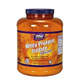 NOW Sports Cookies 'N' Creme Whey Protein Isolate, 5-Pound