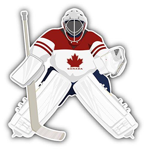novland Canada Hockey Team Goalie Player Car Sticker Decal 5'' x 5''