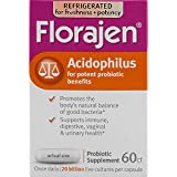 Florajen Acidophilus Dietary Supplement - 60 Capsules, Pack of 6
