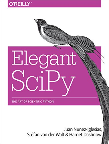 Book cover of Elegant SciPy: The Art of Scientific Python by Juan Nunez-Iglesias