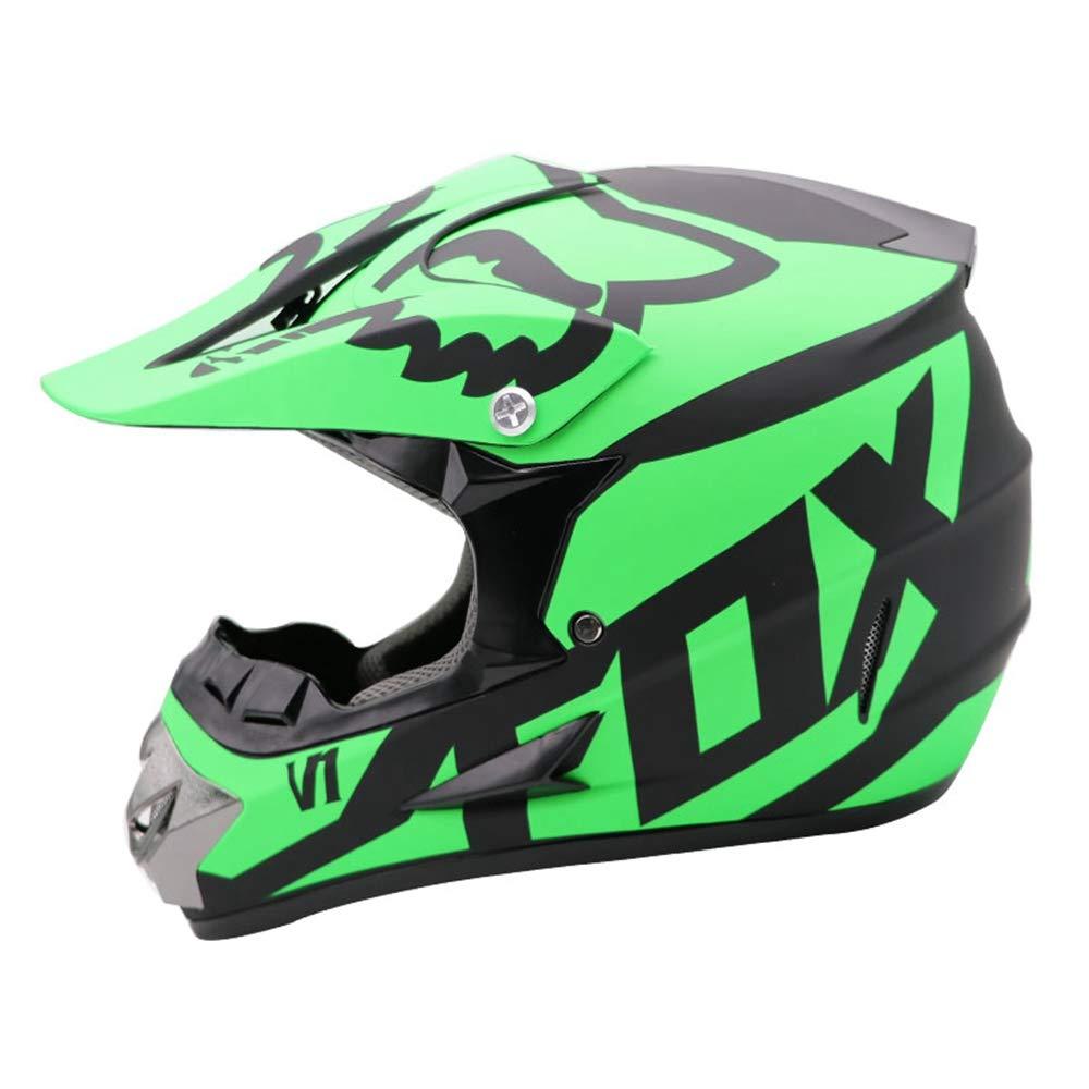 Casque Motobiker VTT Classique VTT VTT Casque VTT DH Racing Casque Motocross Downhill Bike,L
