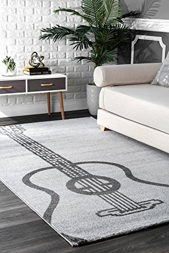 Guitar Area Rugs For Funk N Music Lovers Over 7 Funky