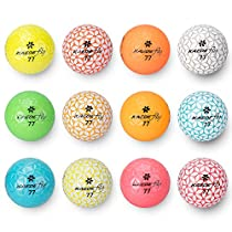 「世界最多色」KAEDE(カエデ) ゴルフボール FLY 12色セット(12...