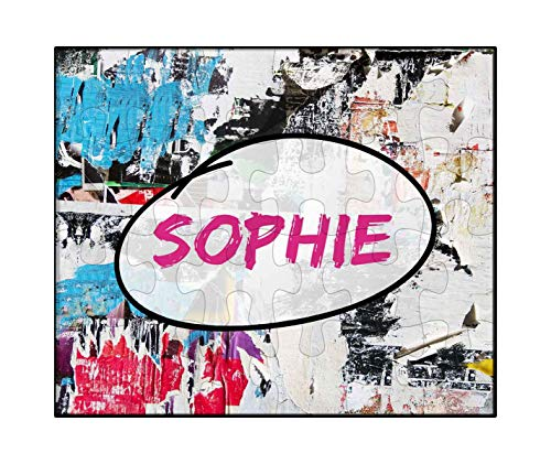 Makoroni - Sophie Female Name - Jigsaw Puzzle, 30 pcs.