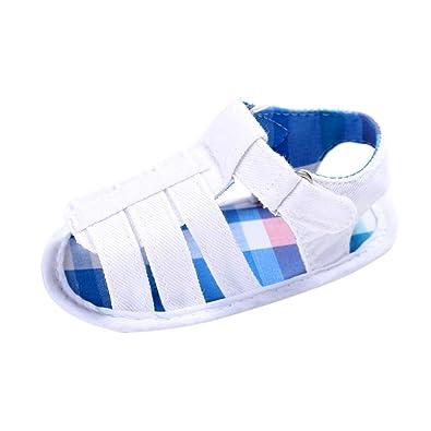 5b5d925d0a813 Bonjouree Sandales Bébé Garçon Chaussures Souples Ete pour Enfant Garçon  (11CM   0-6
