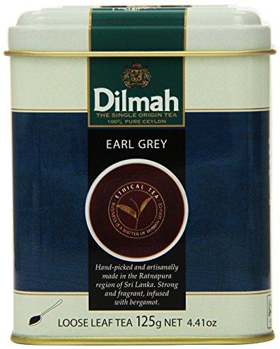 Dilmah Tea, Earl Grey Tea, Loose Leaf, 4.4-Ounce Tins (Pack of 3)