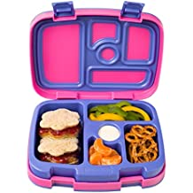 Bentgo Kids Brights – Leak-Proof, 5-Compartment Bento-Style Kids Lunch Box – Ideal Portion Sizes...