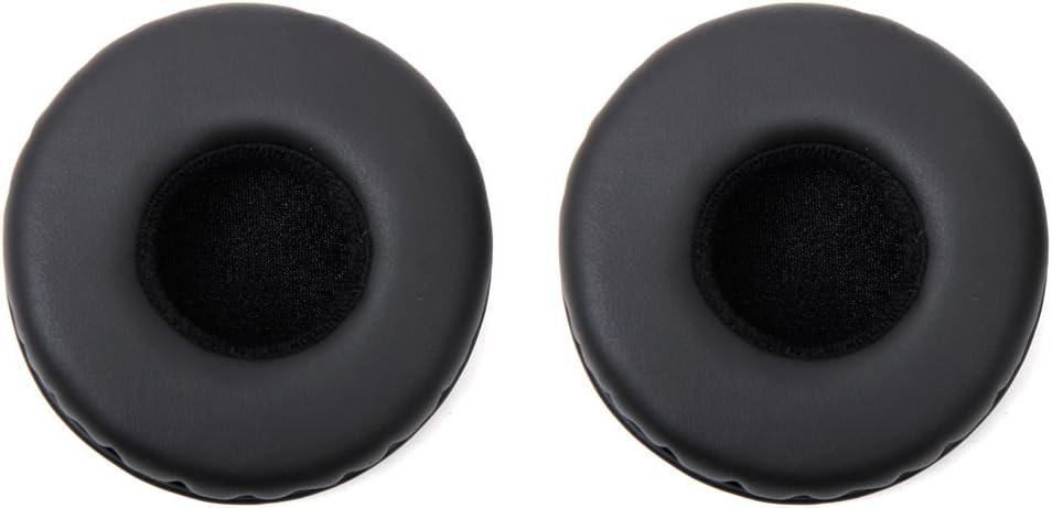 1par de almohadillas de repuesto para auriculares K518,K518DJ, K518LE y K81, marca genérica, color negro