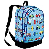 Personalized Olive Kids Trains, Planes and Trucks Sidekick Backpack