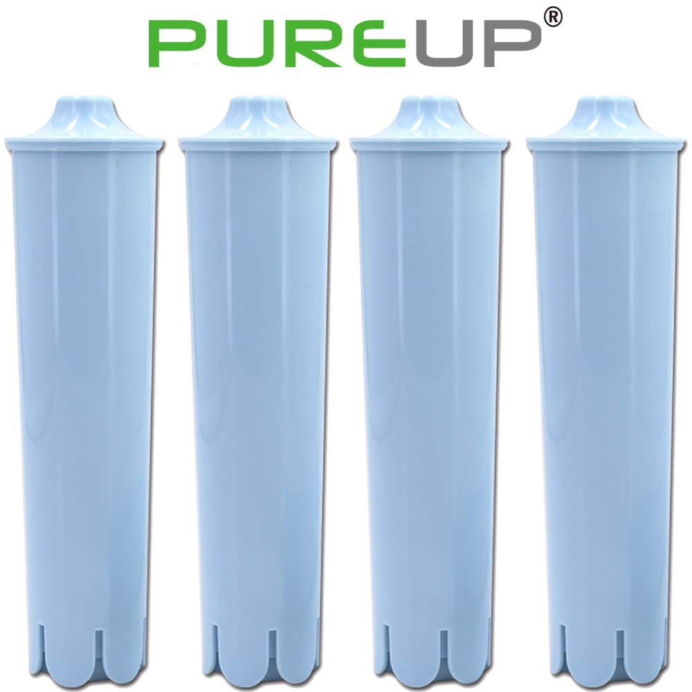 Pureup Water Filter Compatible for Jura Claris Blue Capresso Clearyl Coffee Machines Replacement 4pack by PUREUP