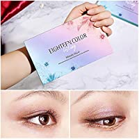 Beauty Essentials Brand Makeup Long-lasting Eye Shadow Easy To Wear Eyeshadow Natural Matte Shimmer Natural Makeup Palette 18 Colors Beauty & Health