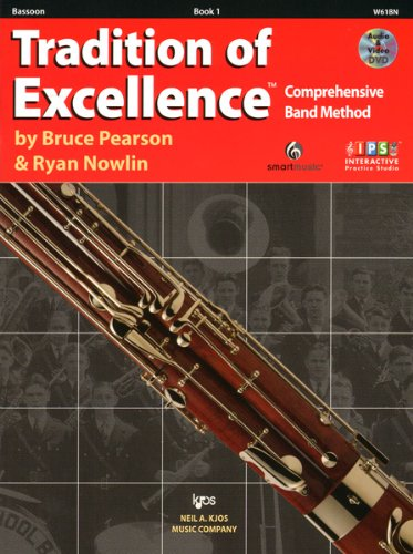 Book 1 Bassoon - W61BN - Tradition of Excellence Book 1 Bassoon