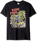 T-Line Men's Ratfink King Fink Graphic T-Shirt, Black, X-Large