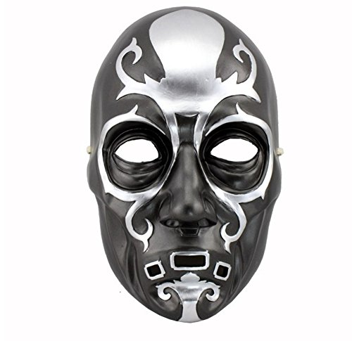 meg 404 Death Eater Mask Masquerade Cosplay Halloween Mask Top Grate Resin Collection Handmaman Helmet Movie Theme of Harry Porter
