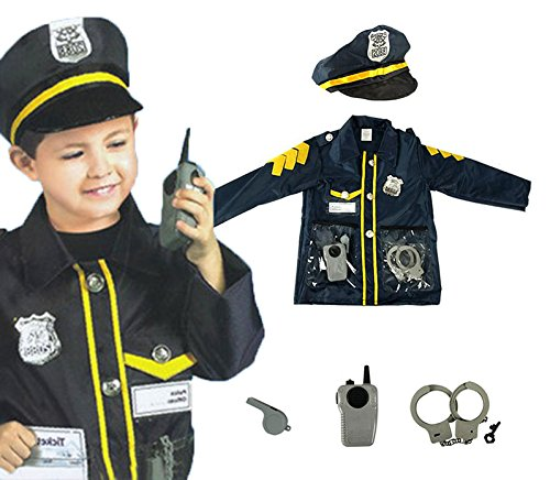 Kids Role Play Costume Set Leaning Pretend Halloween Costume 3-7 Years -