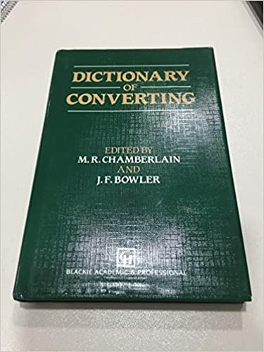 Amazon com: Dictionary of converting (9780216932425): J F