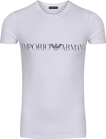 EMPORIO ARMANI camisa de media manga,Camisa de descanso,95% Algodón, 5% Elastano,Lavado a máquina: 3