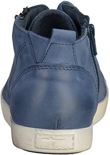 Sneaker Alta Tamaris Da Donna Blu Blu (denim)