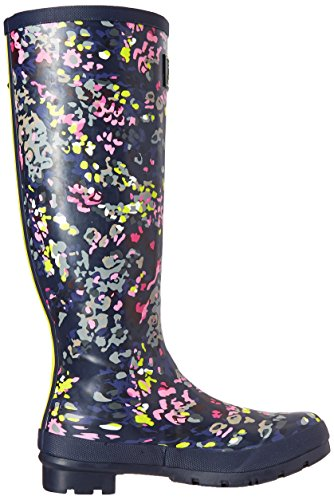 Navy Scatter Print Boot Women's French Joules Rain Welly ZYSqa