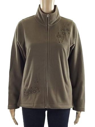FRUIT OF THE LOOM Women's Full Zip Fleece Jackets