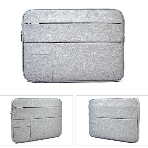 15.6 Inch Nylon Shockproof Spill-Resistant Laptop Sleeve Case for Acer Chromebook 15, Dell Inspiron 15 7559 and Most 15.6