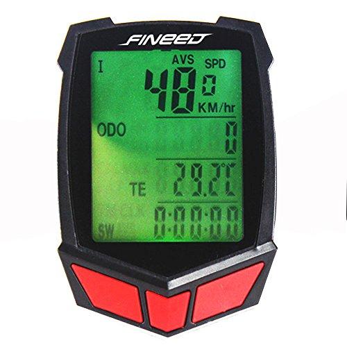 Fineed Computer Wireless Speedometer Odometer